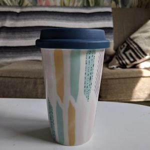 ☕ Target Ceramic To-Go Mug